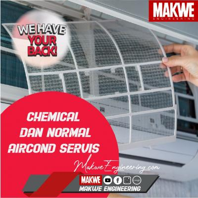 Normal + Chemical Aircond Service